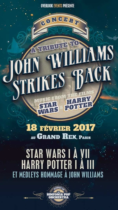 Concert hommage à John Williams