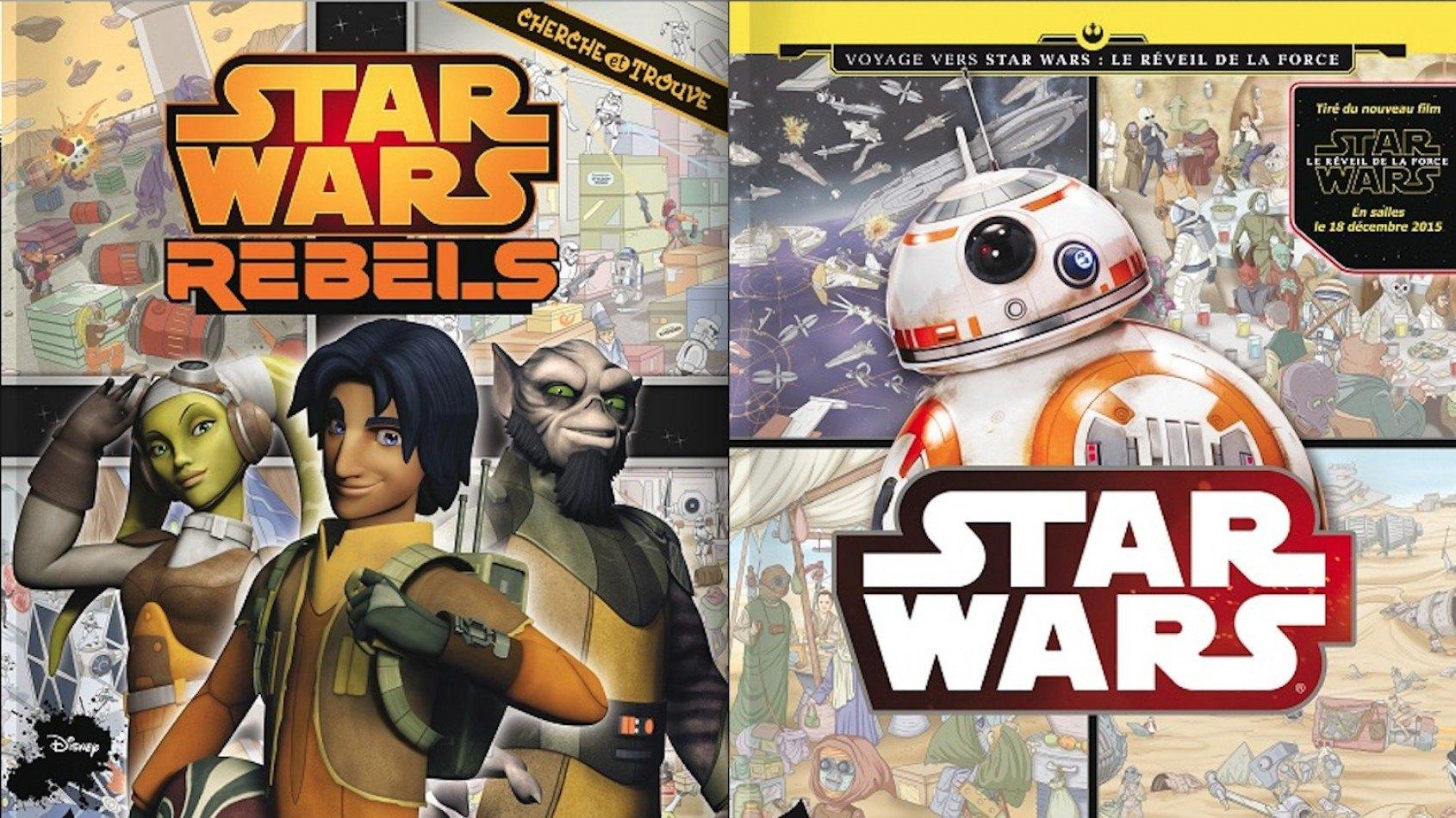 [Review] Les Cherche et Trouve Star Wars chez PI Kids
