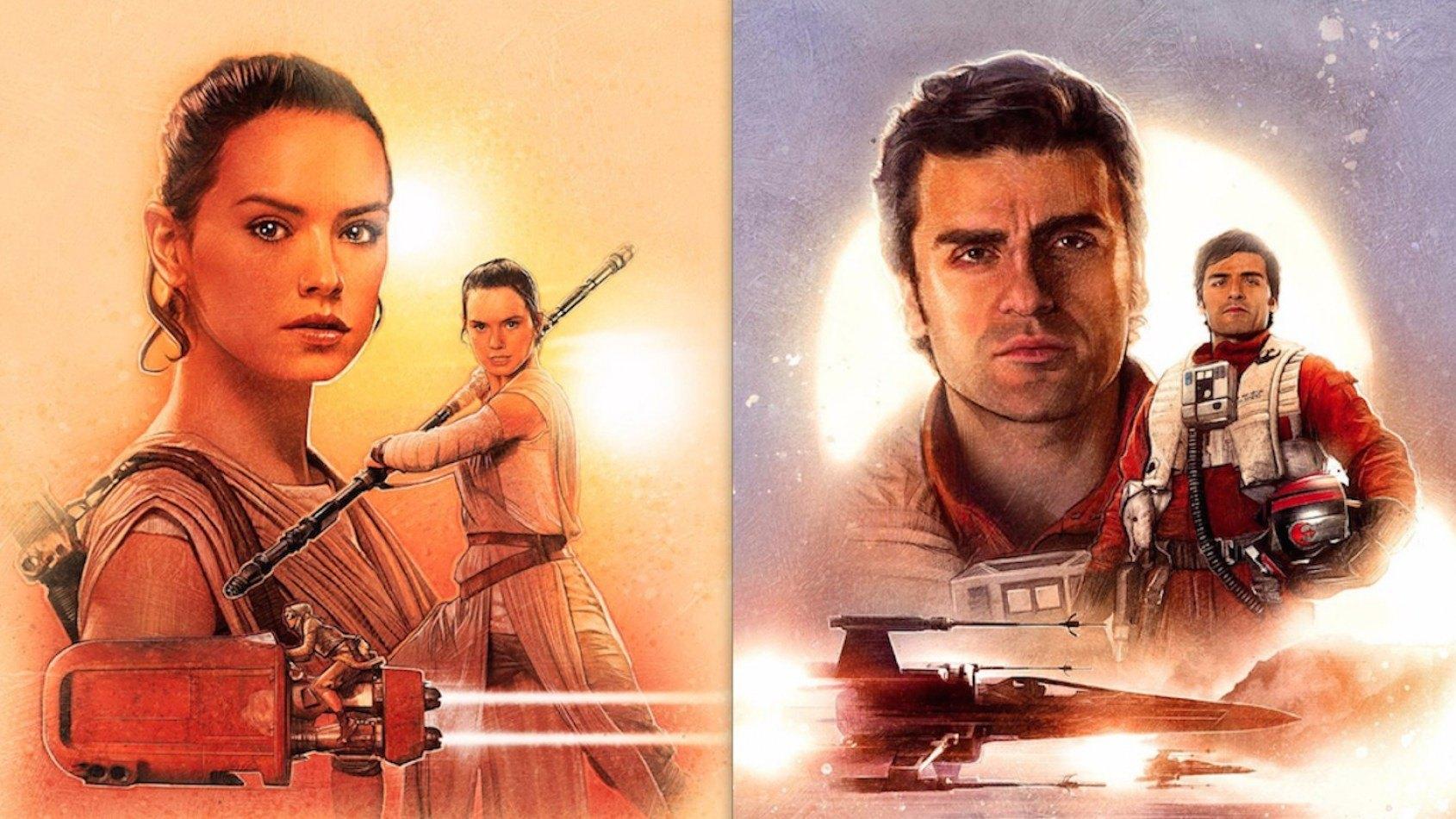 Six nouveaux posters du Réveil de la Force