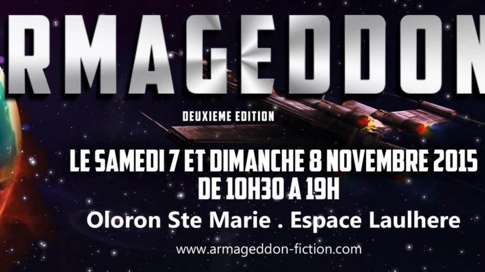 Le salon Armageddon, c'est dans un mois !