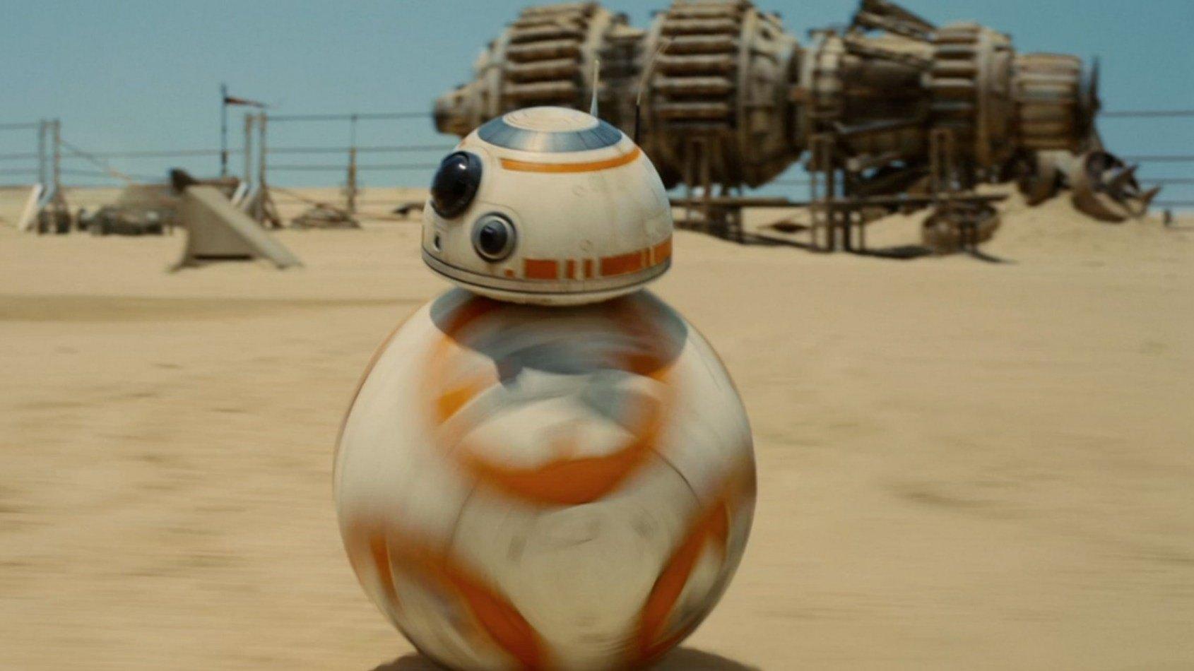 BB-8 dévoile l'intérieur de sa sphère !
