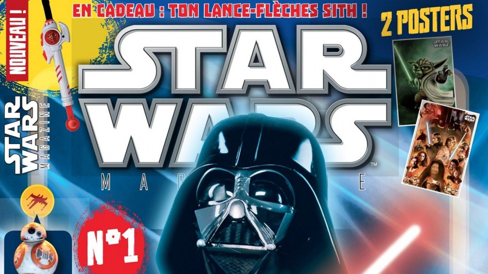 [Panini] Le Star Wars Magazine 1 est sorti