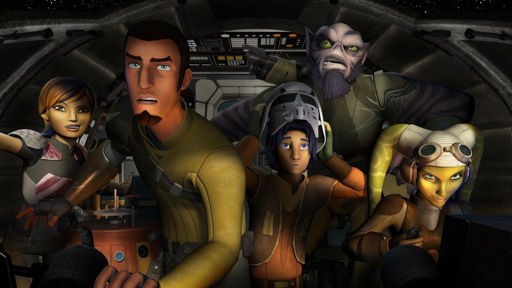 Un concept de McQuarrie dans Star Wars Rebels?