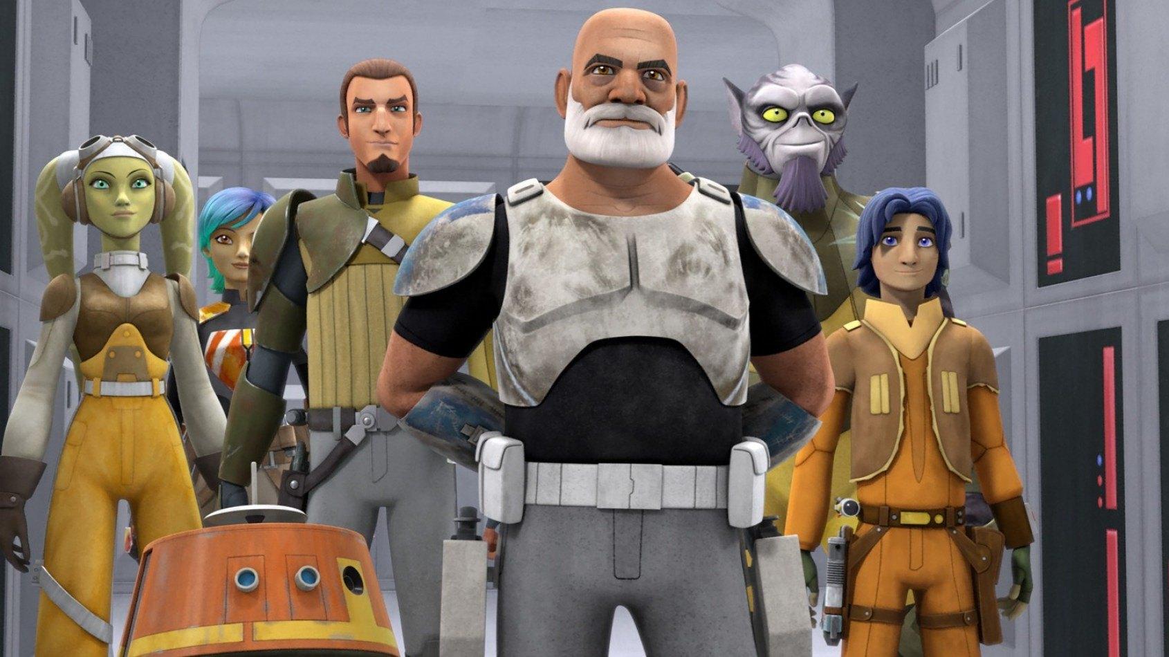 Deux nouveaux extraits pour la saison 2 de Star Wars Rebels