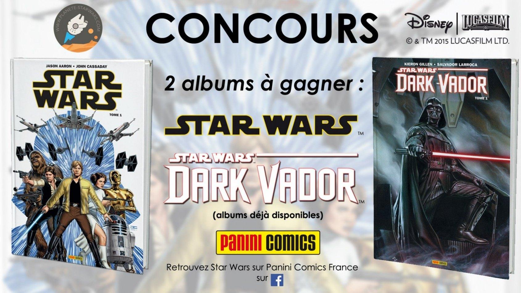 CONCOURS : Gagnez les premiers albums de Panini