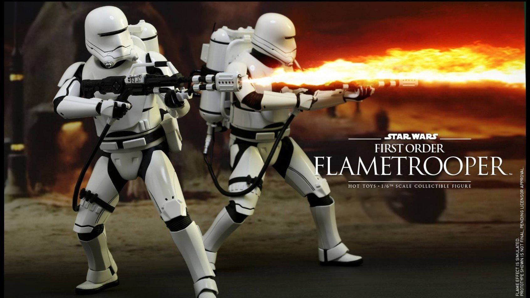 [Hot Toys] The Force Awenkens  1/6th scale First Order Flametrooper