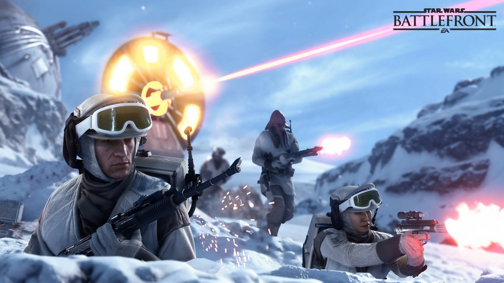 Un trailer sur le gameplay de Battlefront !