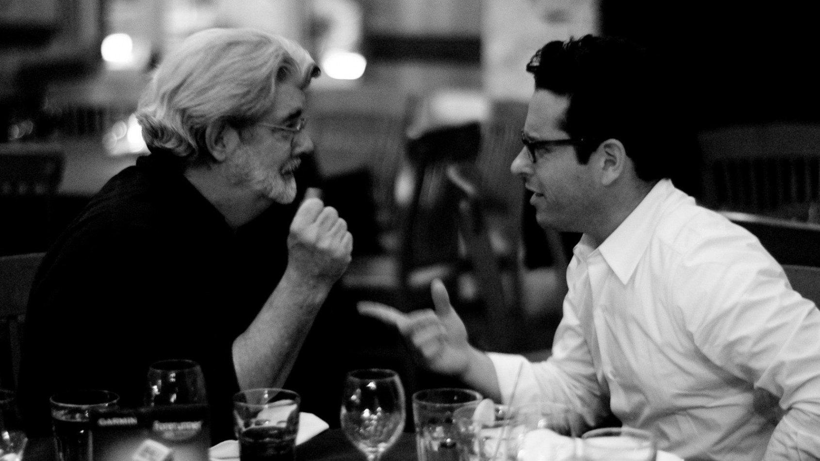 Quand George Lucas questionne J.J. Abrams sur Le Réveil de la Force