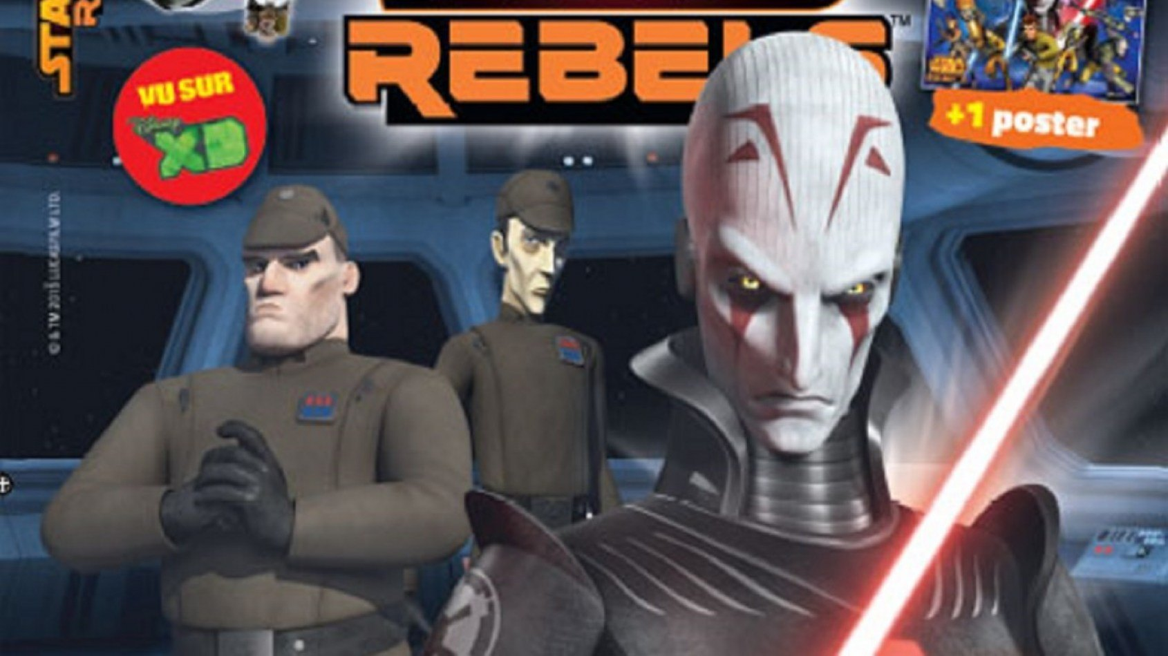 [Panini] Les magazines Star Wars Lego 4 et Star Wars Rebels 6 sont sortis