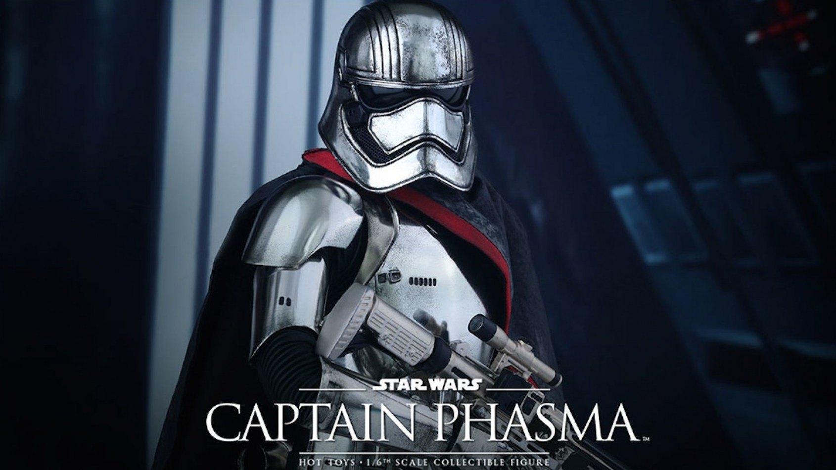 [Hot Toys] la poupée du Capitaine Phasma