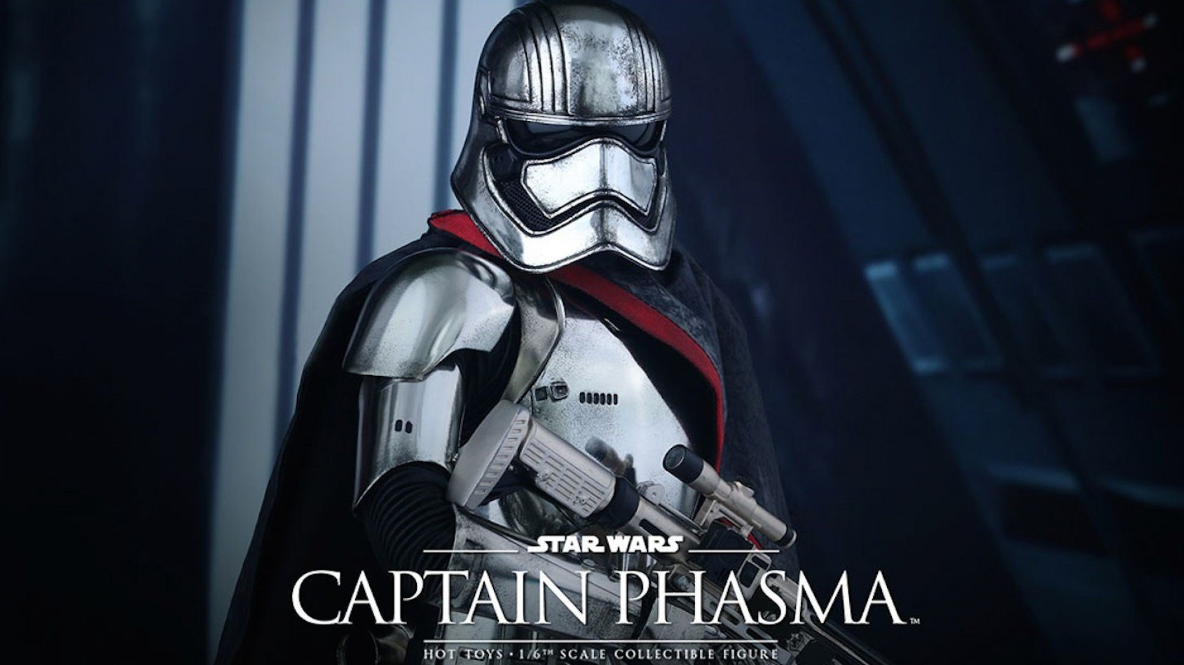 [Hot Toys] la poupée du Capitaine Phasma