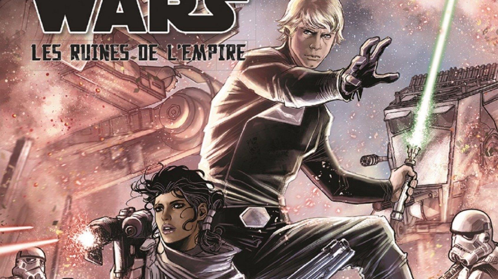 [Panini] La couverture et le synopsis de Les Ruines de l'Empire