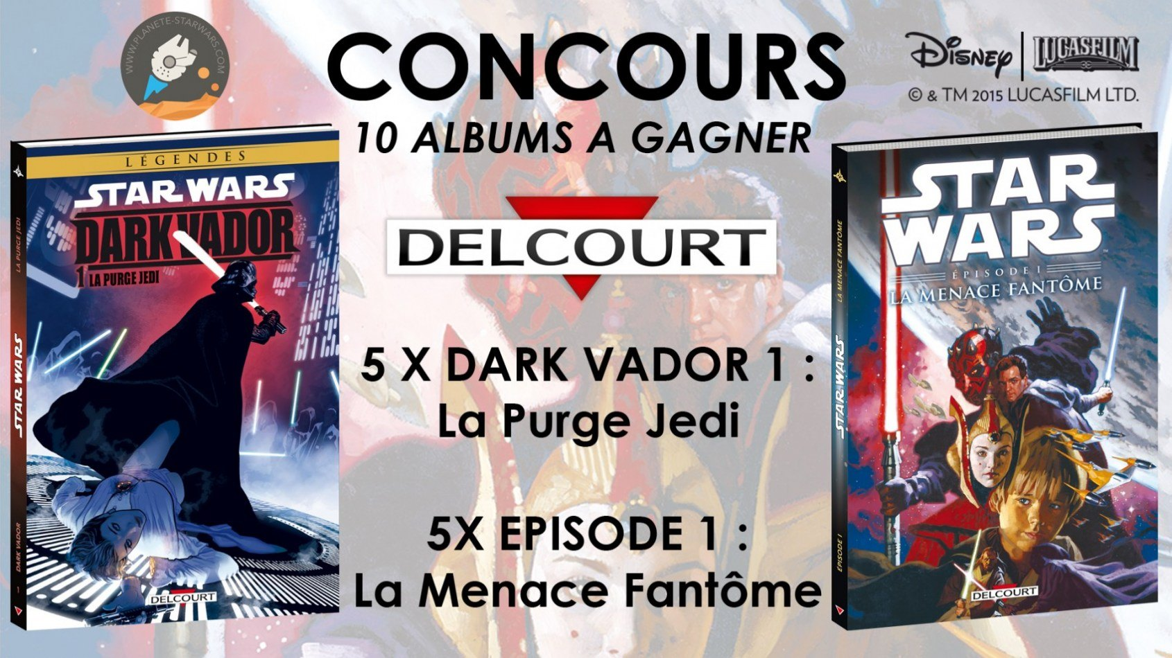 Concours : Gagnez 10 albums des éditions Delcourt