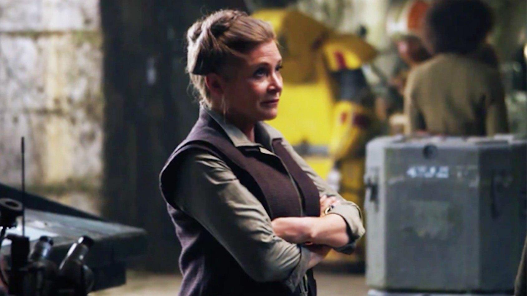 Le nouveau statut de Leia dans le Réveil de la Force