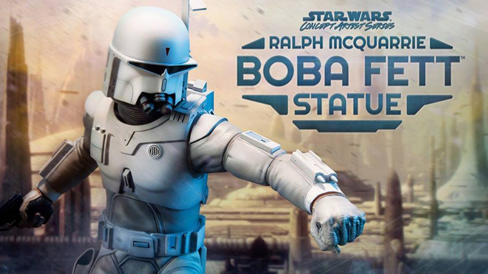 [Sideshow Collectibles] Ralph McQuarrie Boba Fett Statue PREVIEW