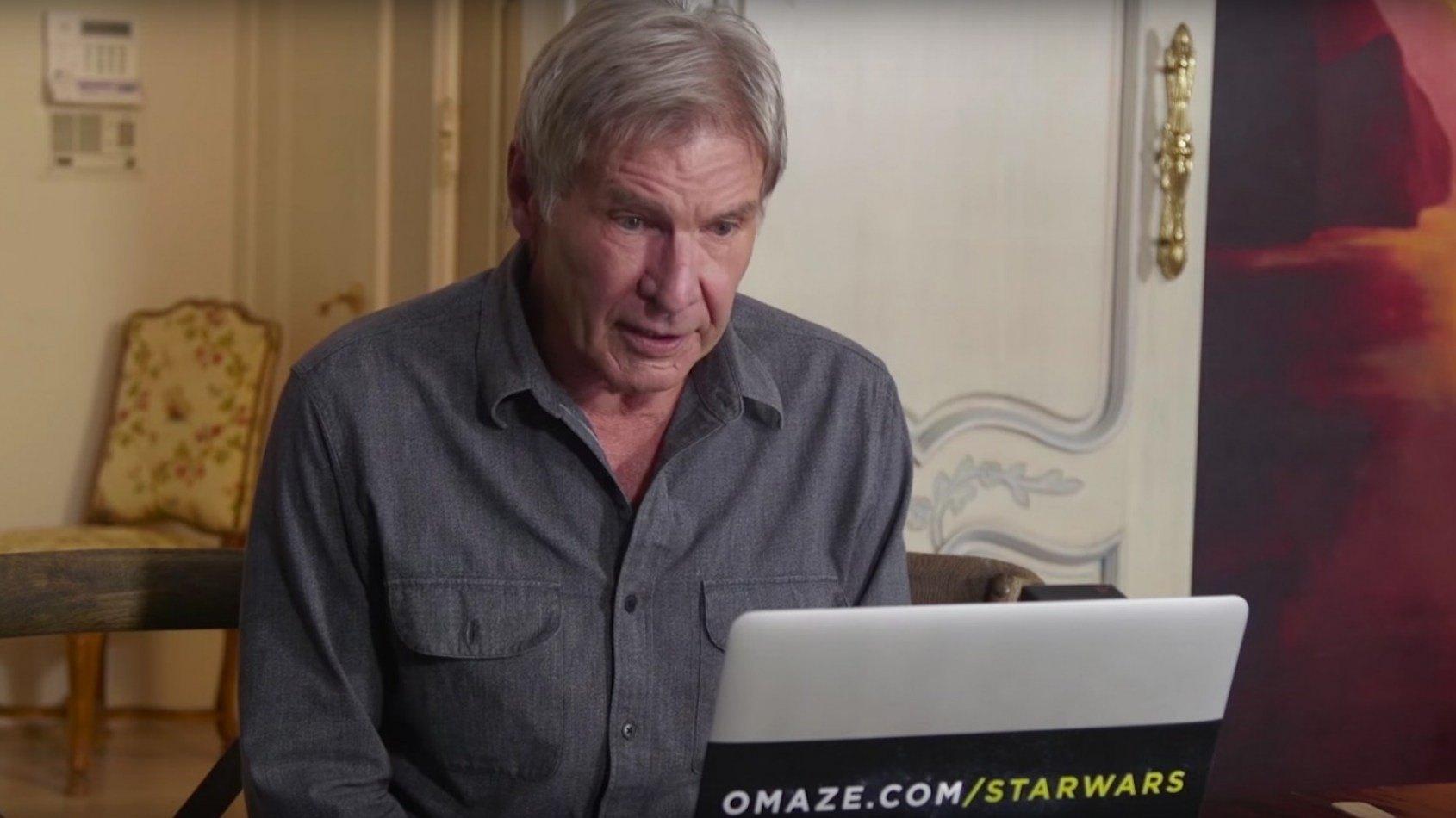 Harrison Ford vous invite à la première mondiale du Réveil de la Force !