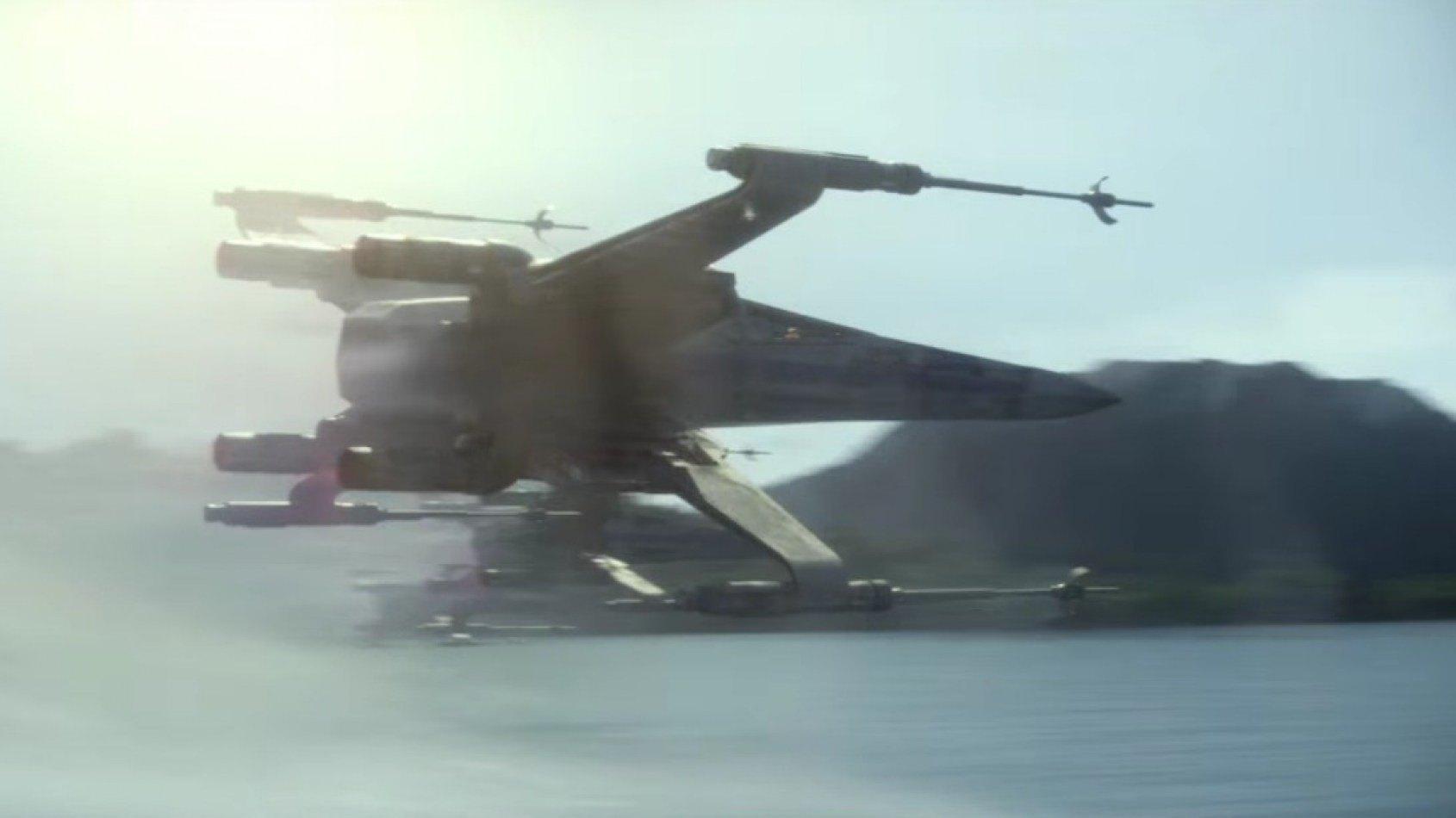 De nouveaux spots TV avec les pilotes de X-Wing et Maz Kanata