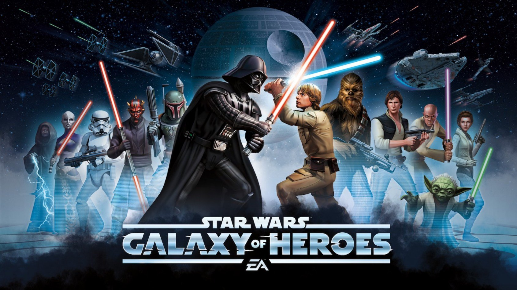 Star Wars: Galaxy of Heroes sur iPhone et Android