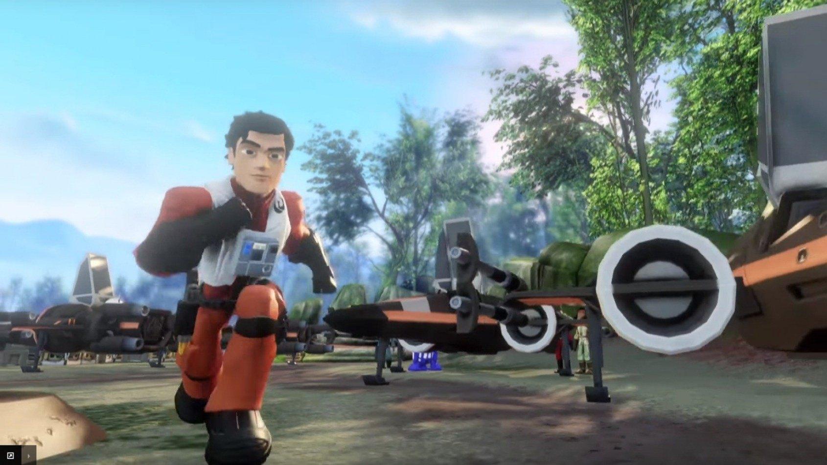 Disney Infinity dévoile ses niveaux sur Le Réveil de la Force
