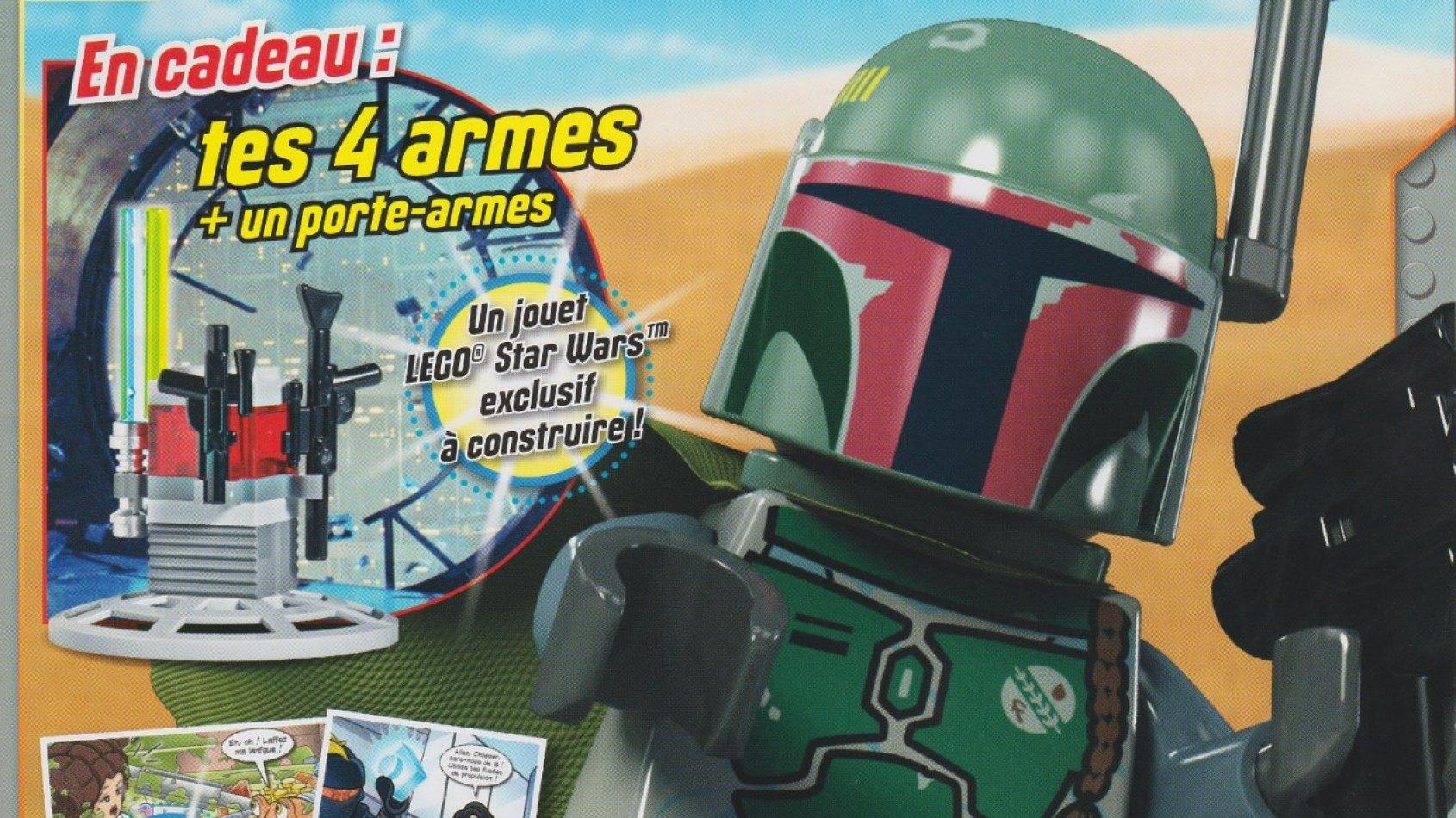 [Panini] Le magazine LEGO Star Wars 5 est en kiosque
