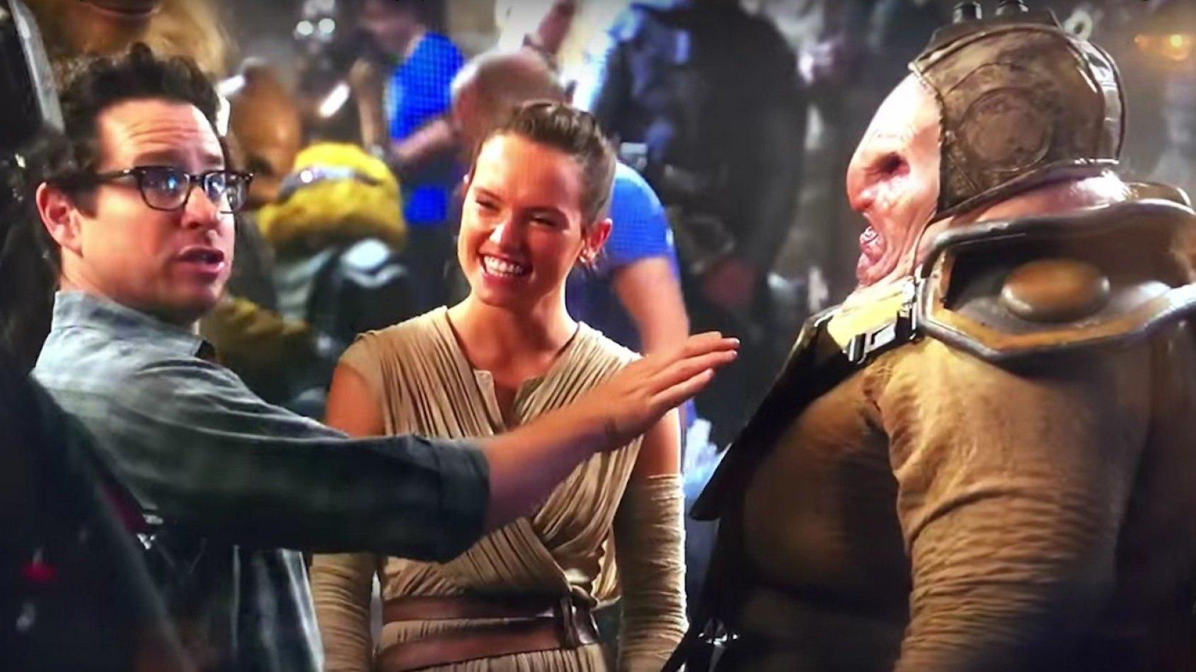 Un petit making of du R�veil de la Force avec Daisy Ridley