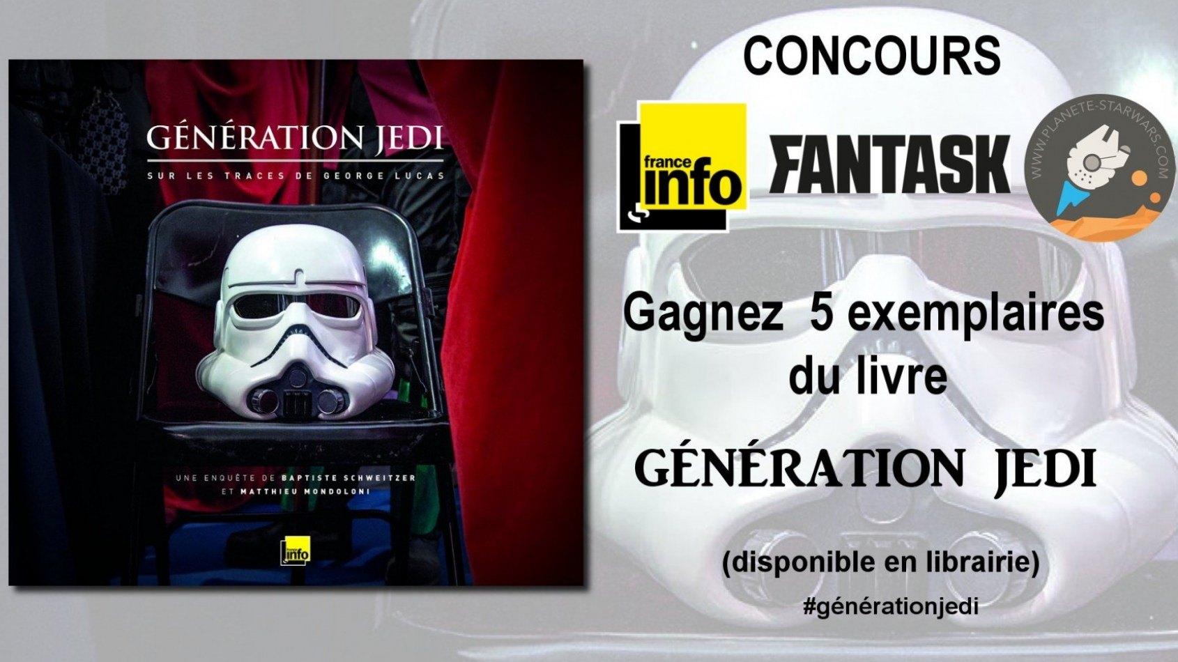 Concours : Gagnez le livre Génération Jedi - Sur les traces de George Lucas