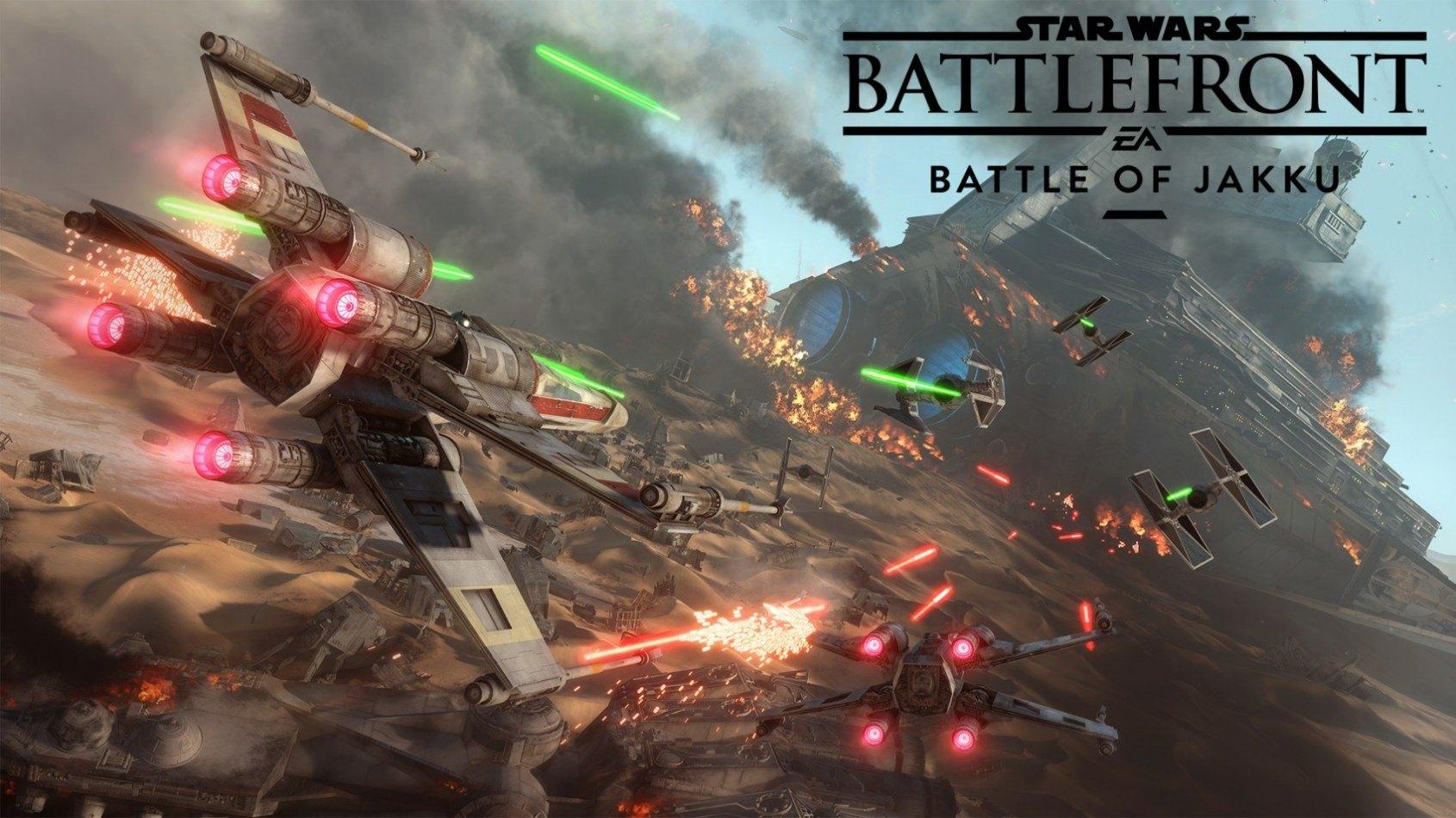 La vidéo du gameplay de la Bataille de Jakku pour Battlefront
