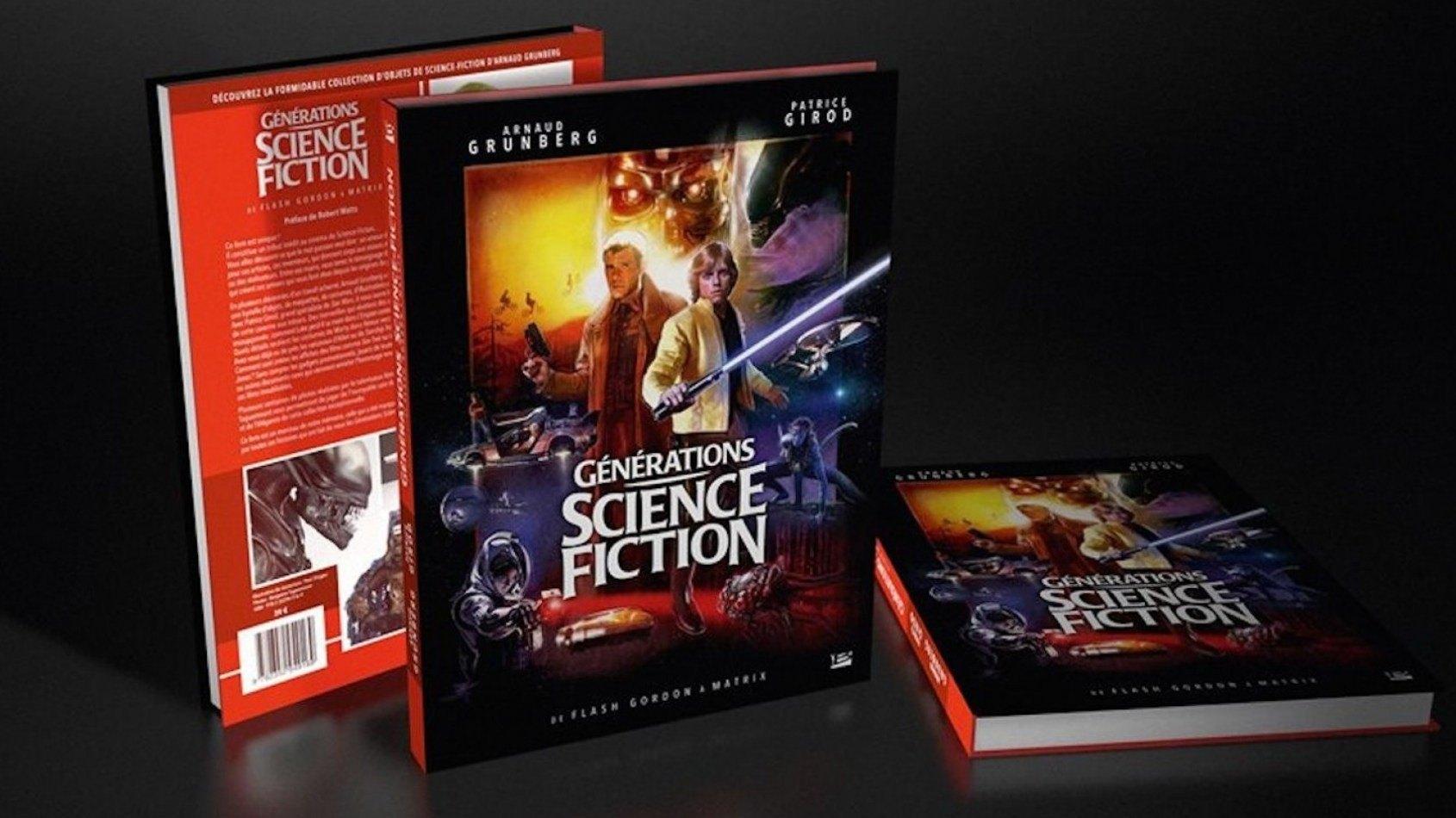[Bragelonne] Sortie de Générations Science Fiction