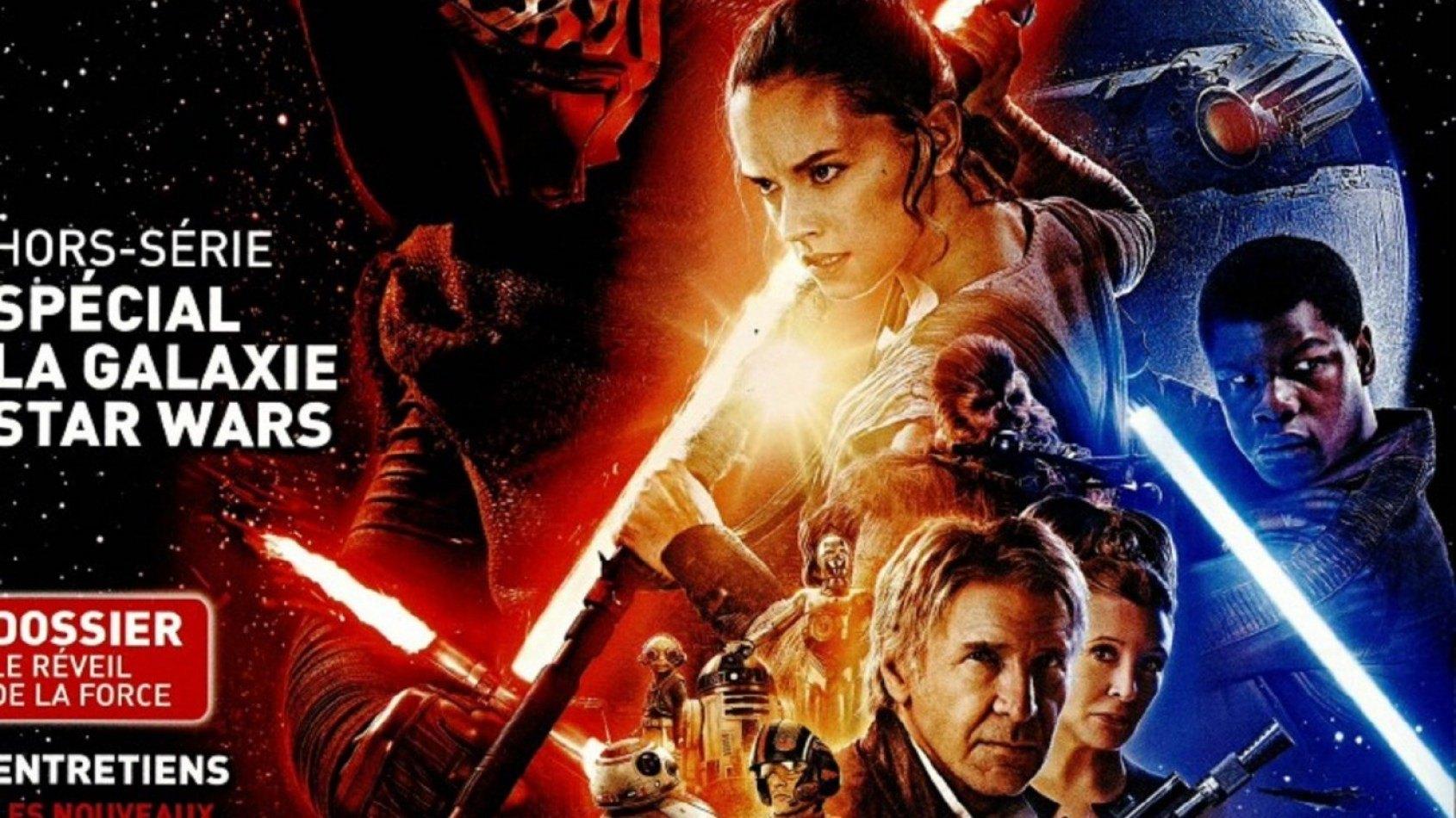 Plein de magazines hors-série sur Star Wars