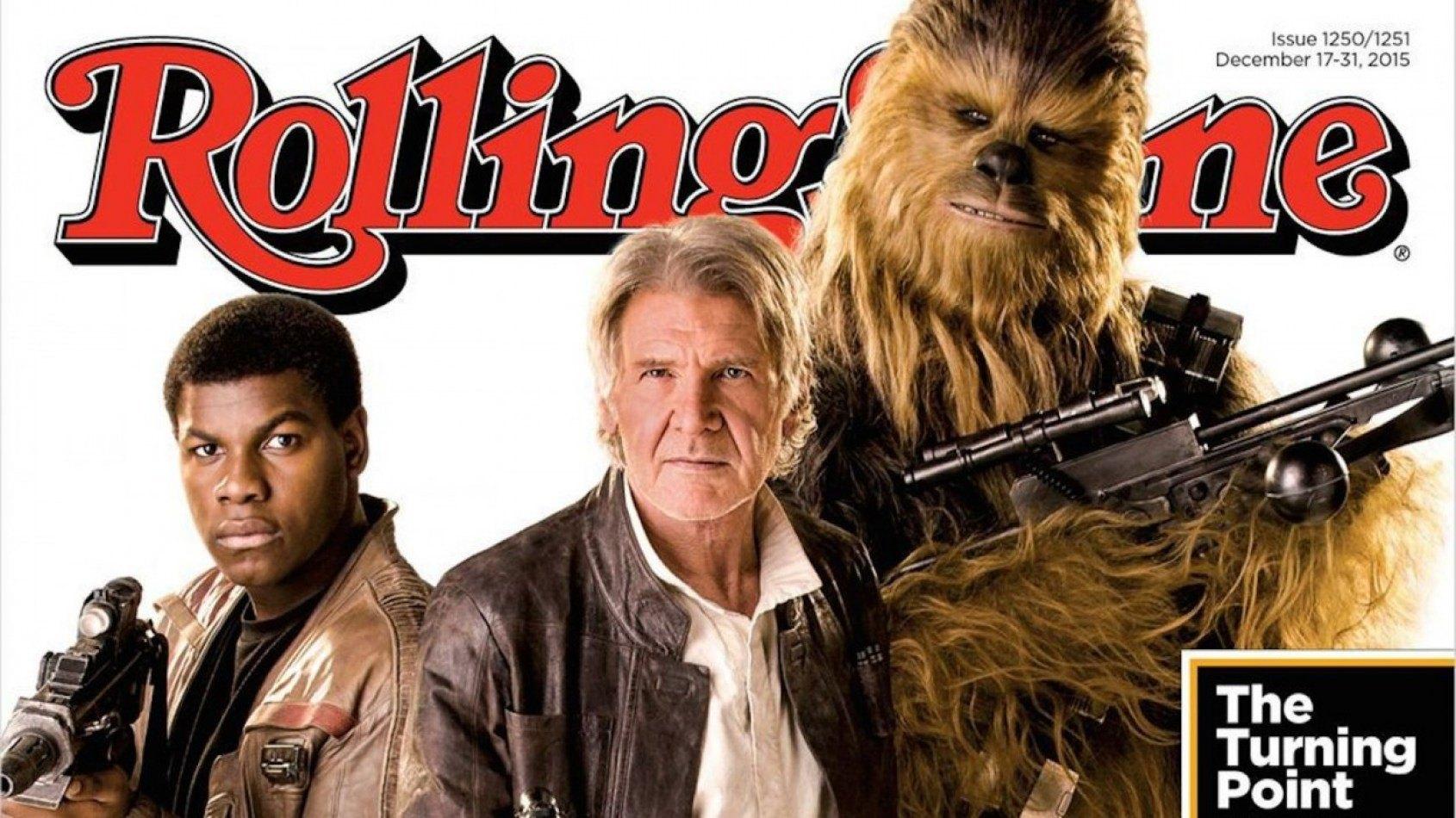 Rolling Stone dévoile de nouvelles photos du Réveil de la Force