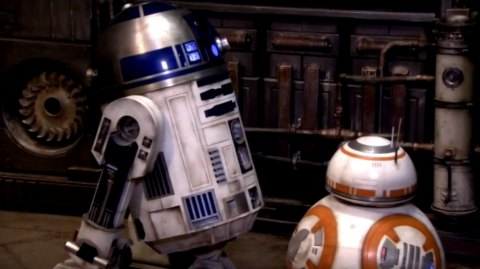Le clash R2-D2 / BB-8 en vidéo !
