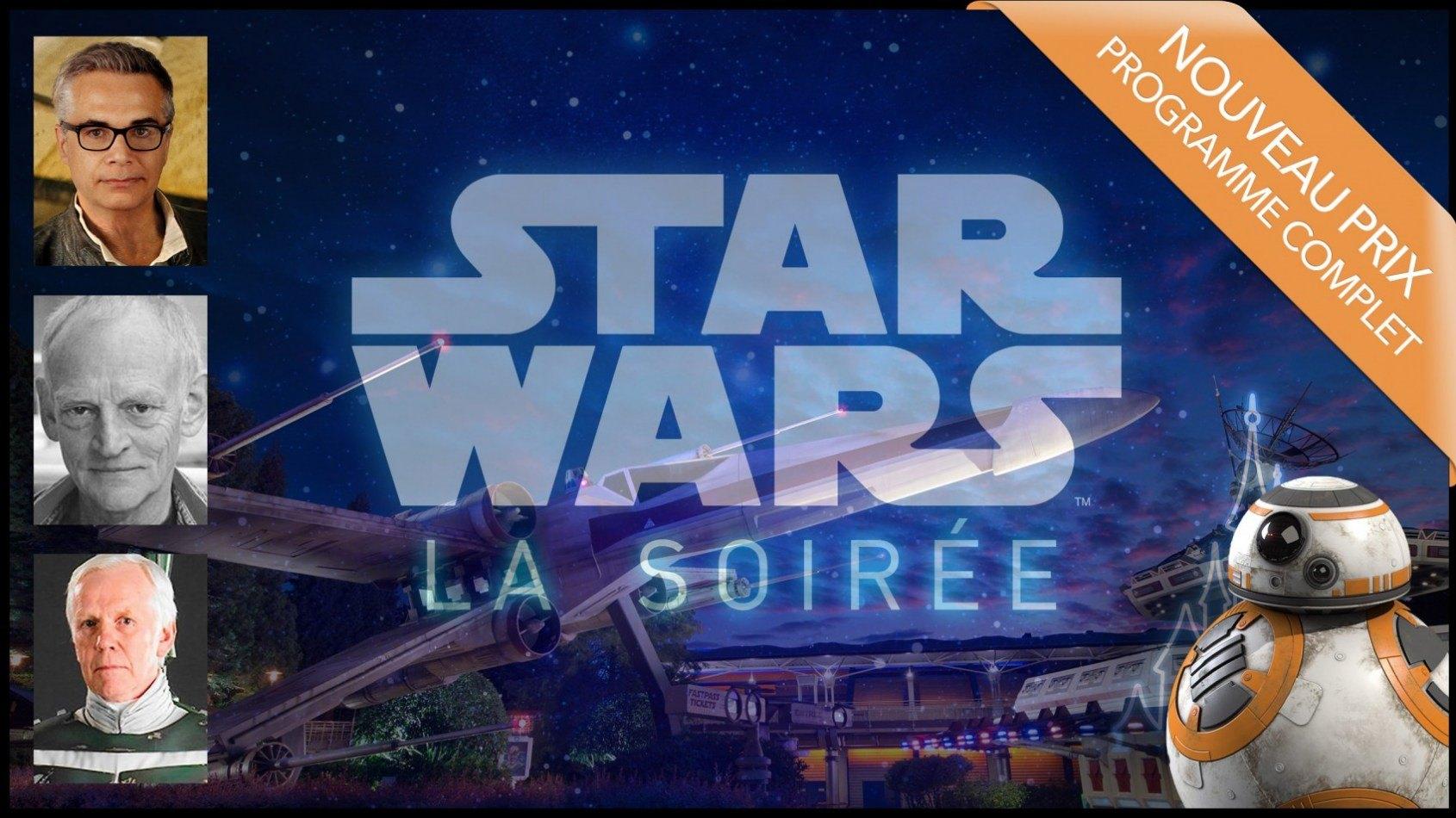 Soirée Star Wars Disneyland Paris - Nouveaux prix et programme complet !