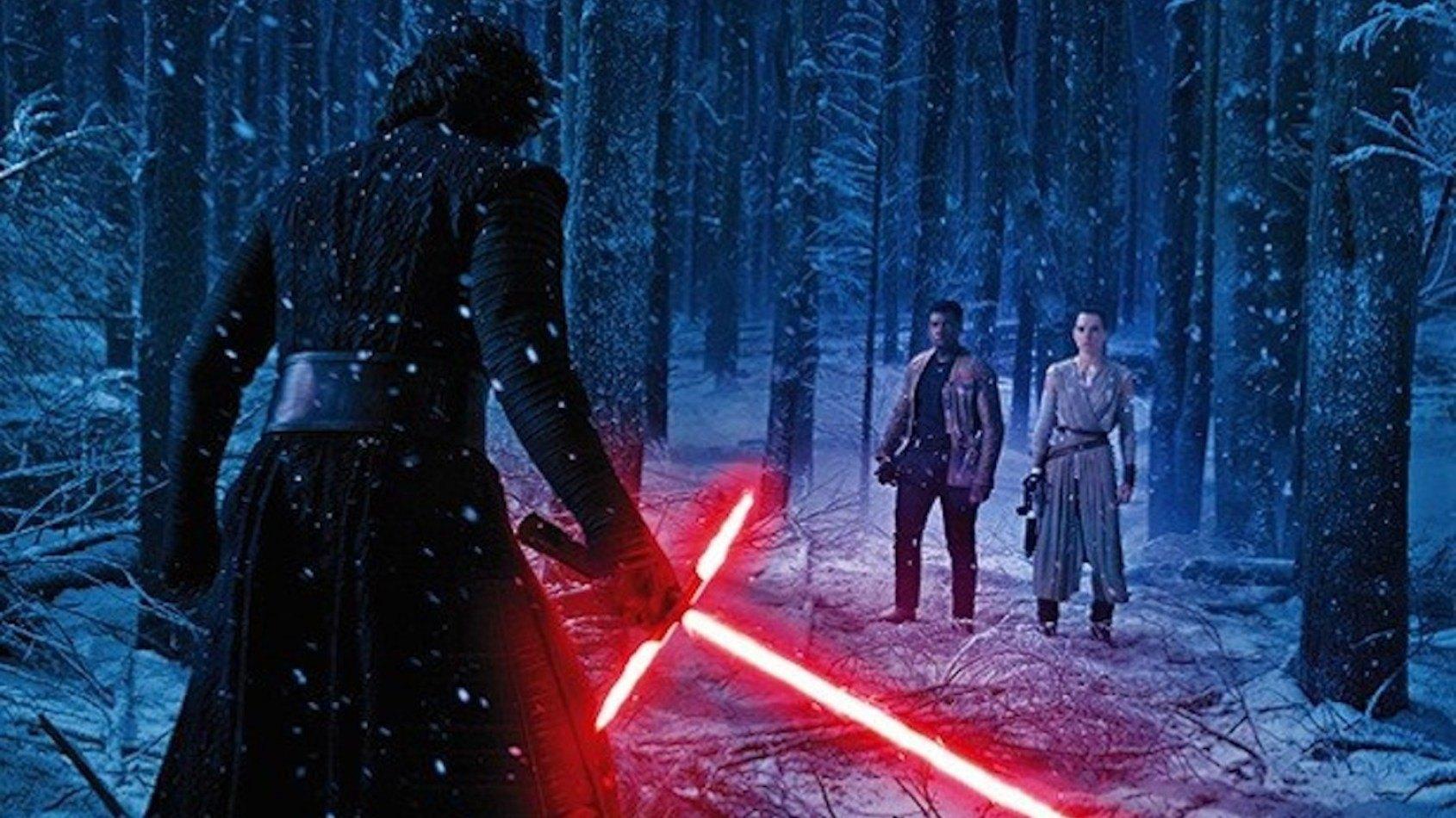 Harrison Ford dévoile un duel au sabre laser du Réveil de la Force