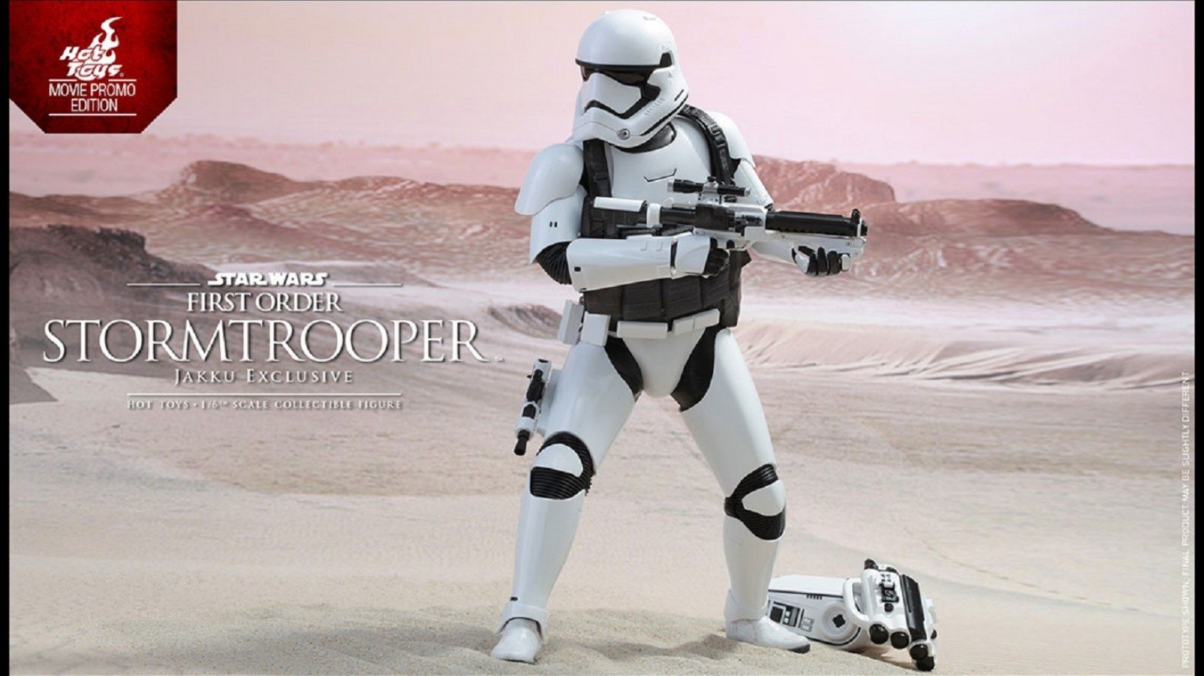 [Hot Toys] Stormtrooper First order (Jakku Exclusive)
