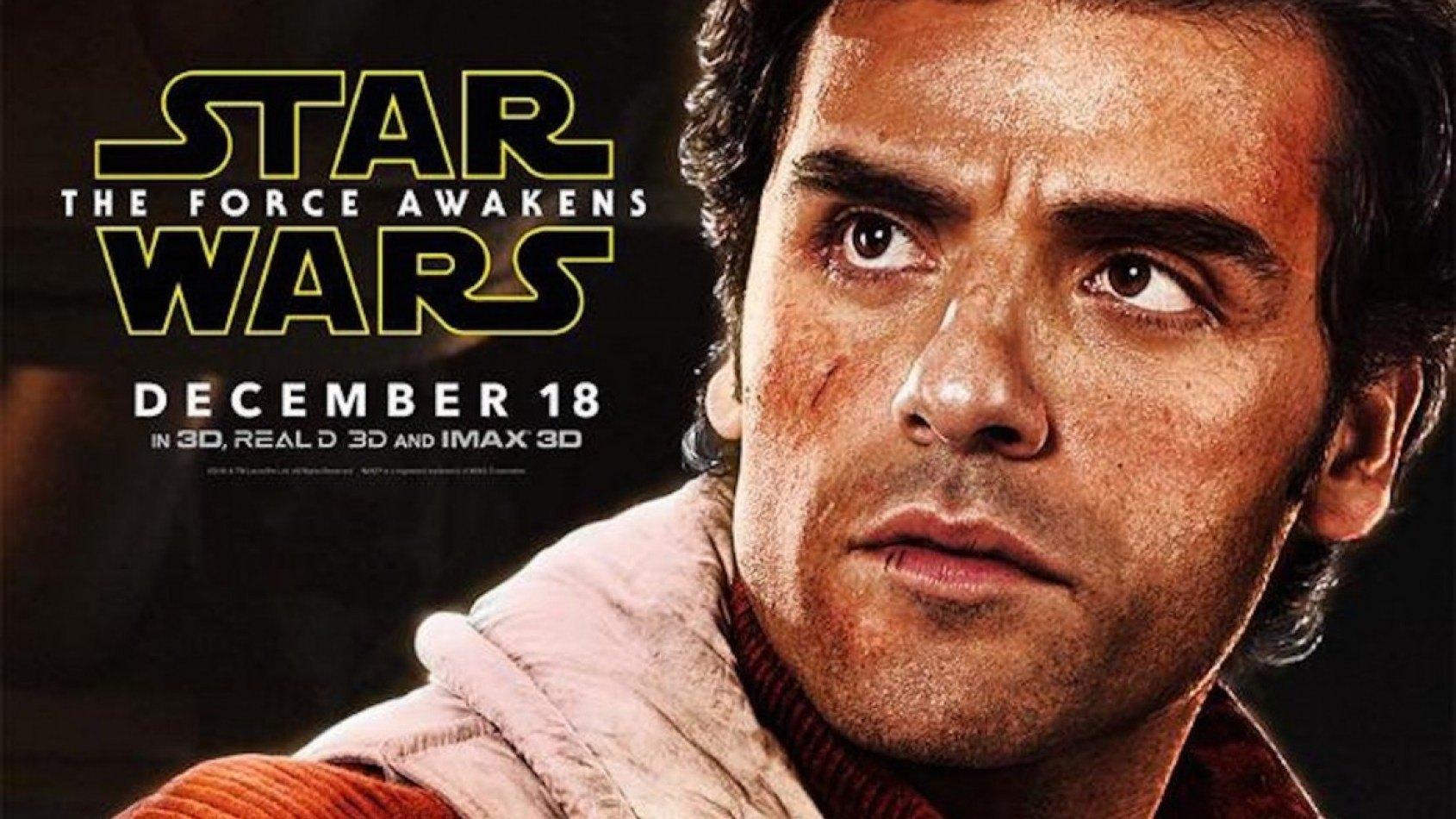 Un poster du Réveil de la Force pour Poe Dameron !