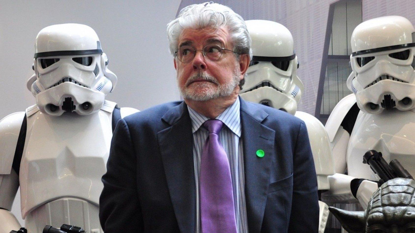 La r�action de George Lucas apr�s avoir vu le R�veil de la Force