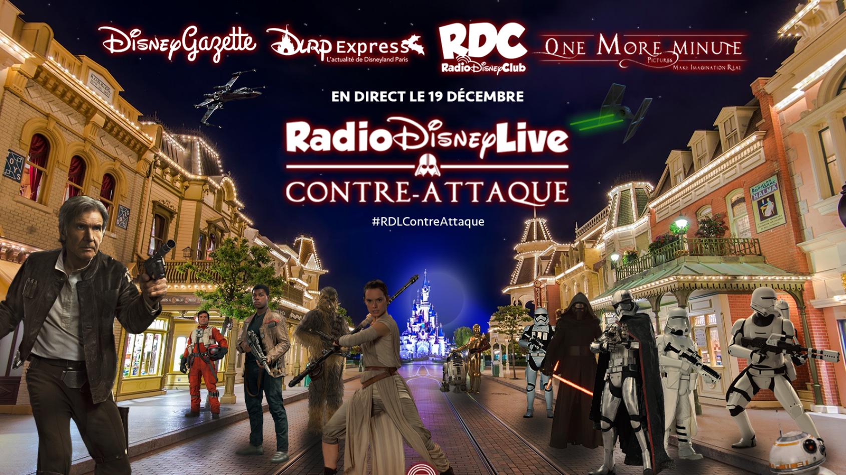 Radio Disney Live Contre-Attaque avec PSW !
