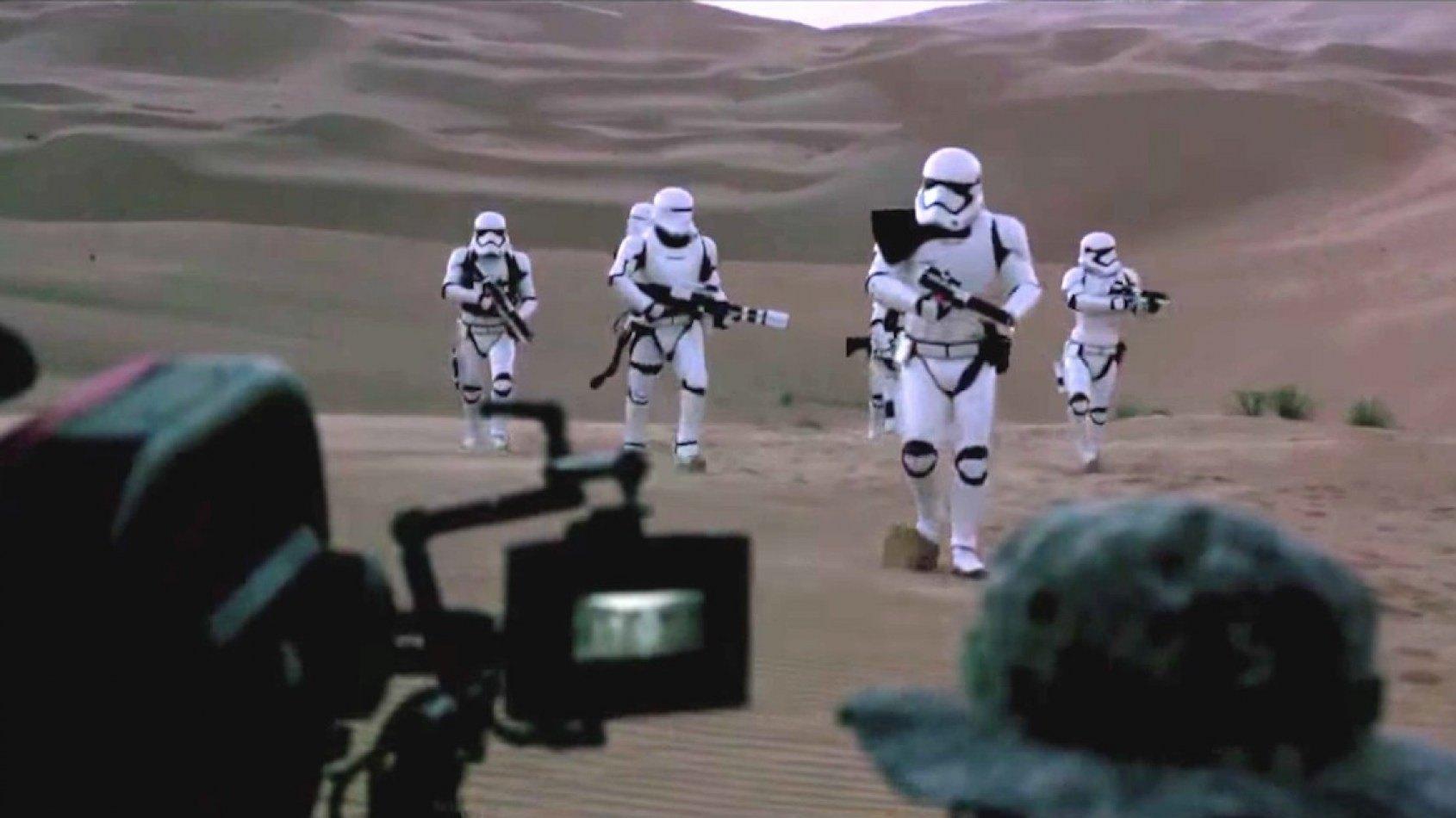 Un making of du tournage à Abu Dhabi pour le Réveil de la Force