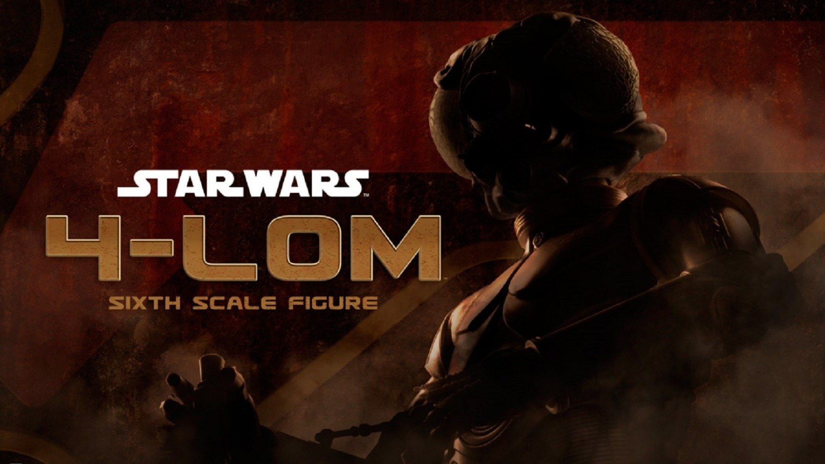 Sideshow 4-LOM Sixth Scale Figure