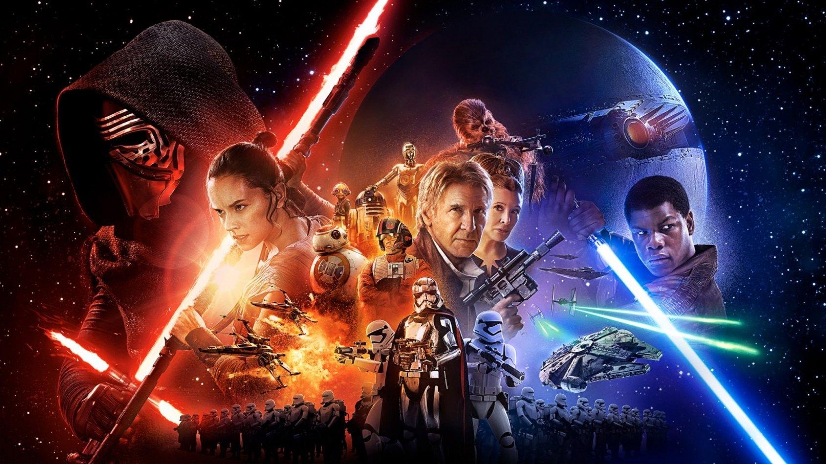 Le Réveil de la Force est le plus gros succès français de 2015 !