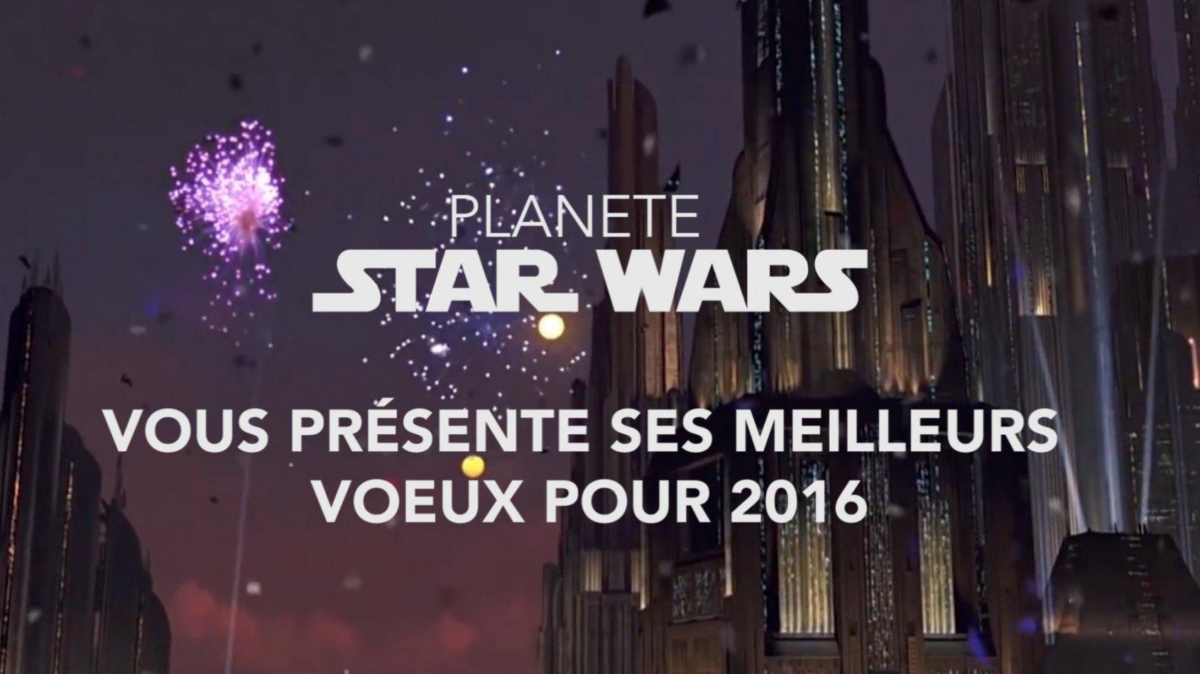 Tous nos voeux pour 2016 !