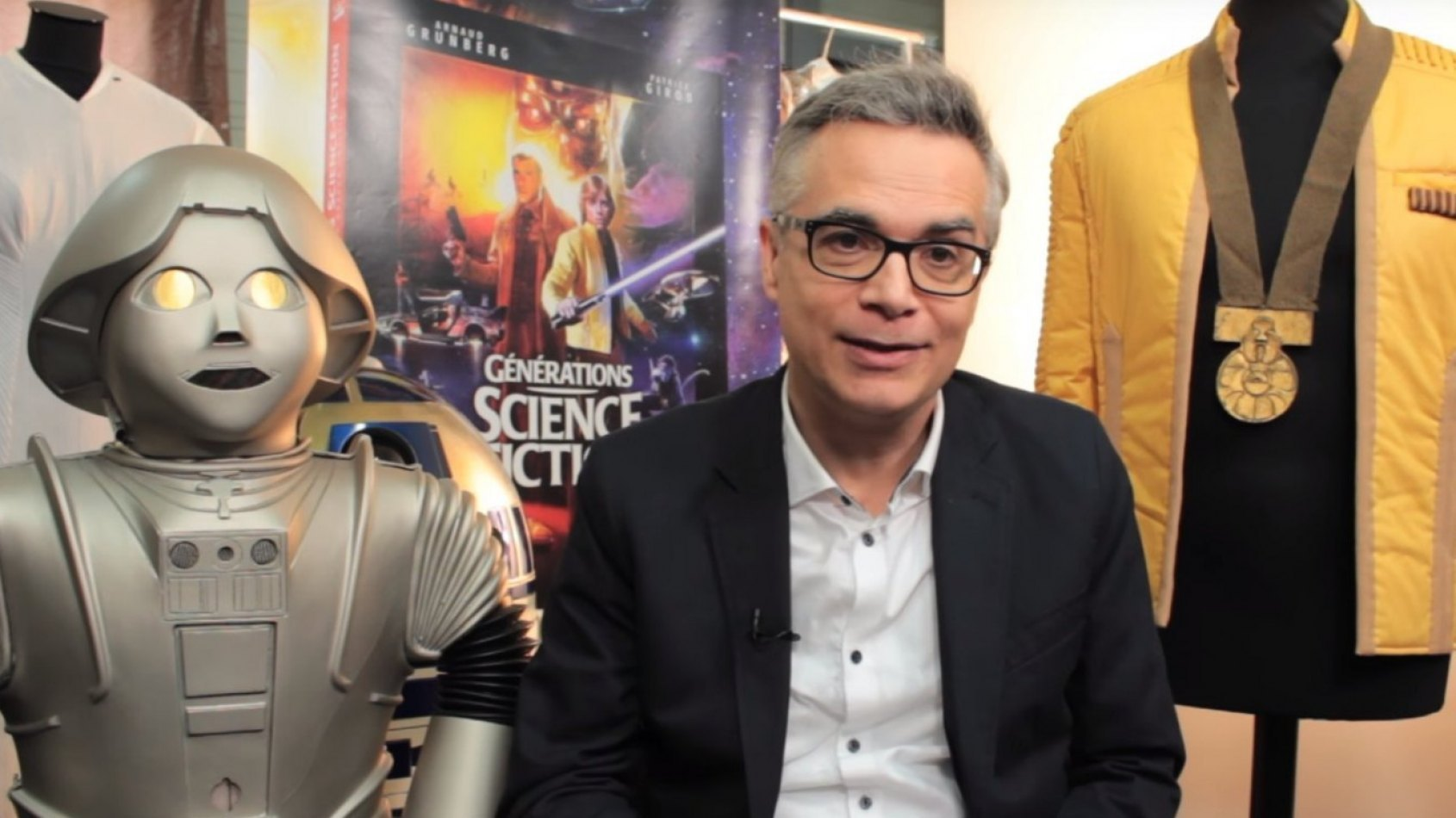 Interview de Patrice Girod pour son livre Générations Science-Fiction