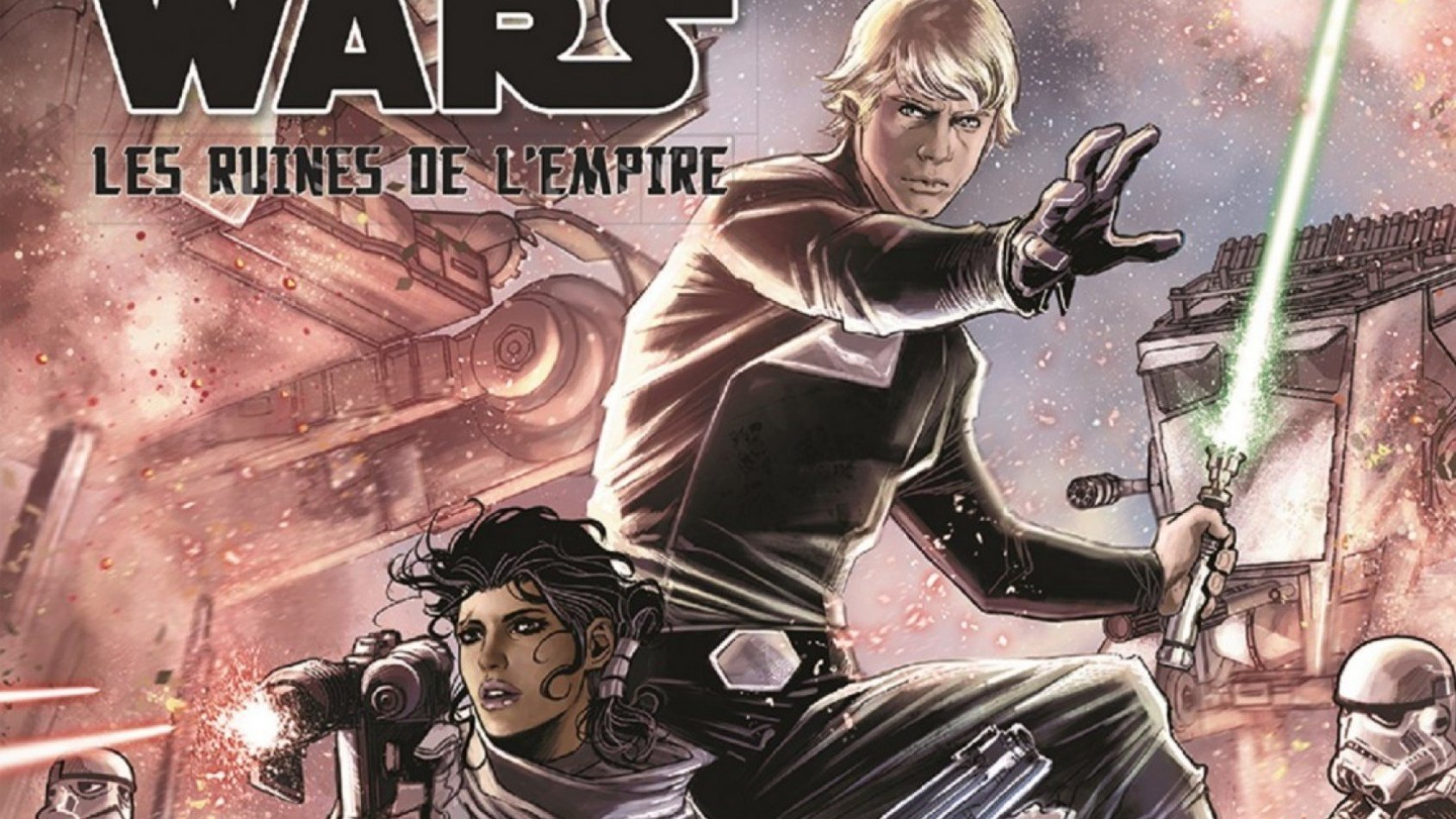 Review : Les Ruines de l'Empire, la BD de Panini Comics