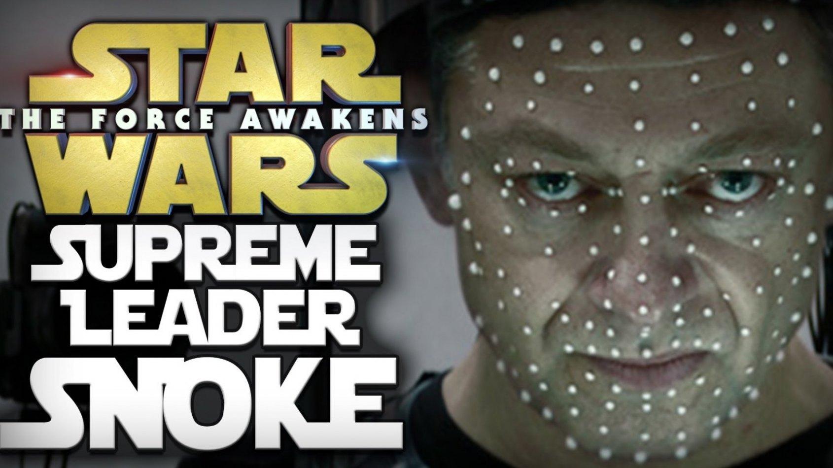 Andy Serkis nous en dit plus sur l'identité de Snoke