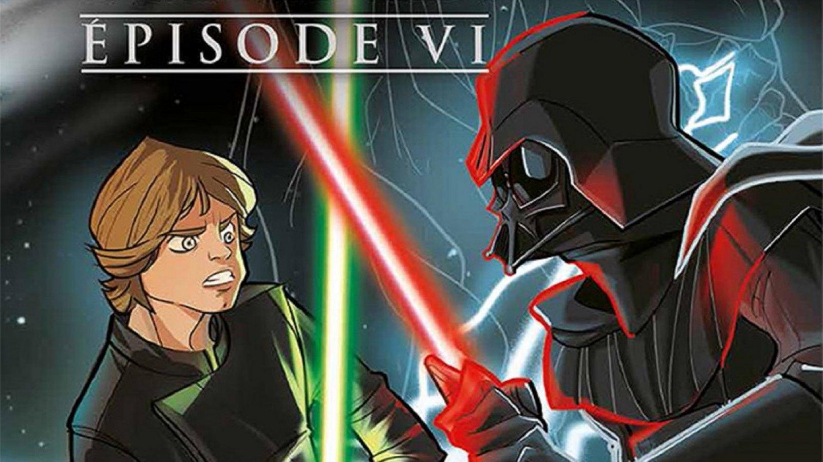 Review : Episode VI : Le Retour du Jedi (jeunesse)