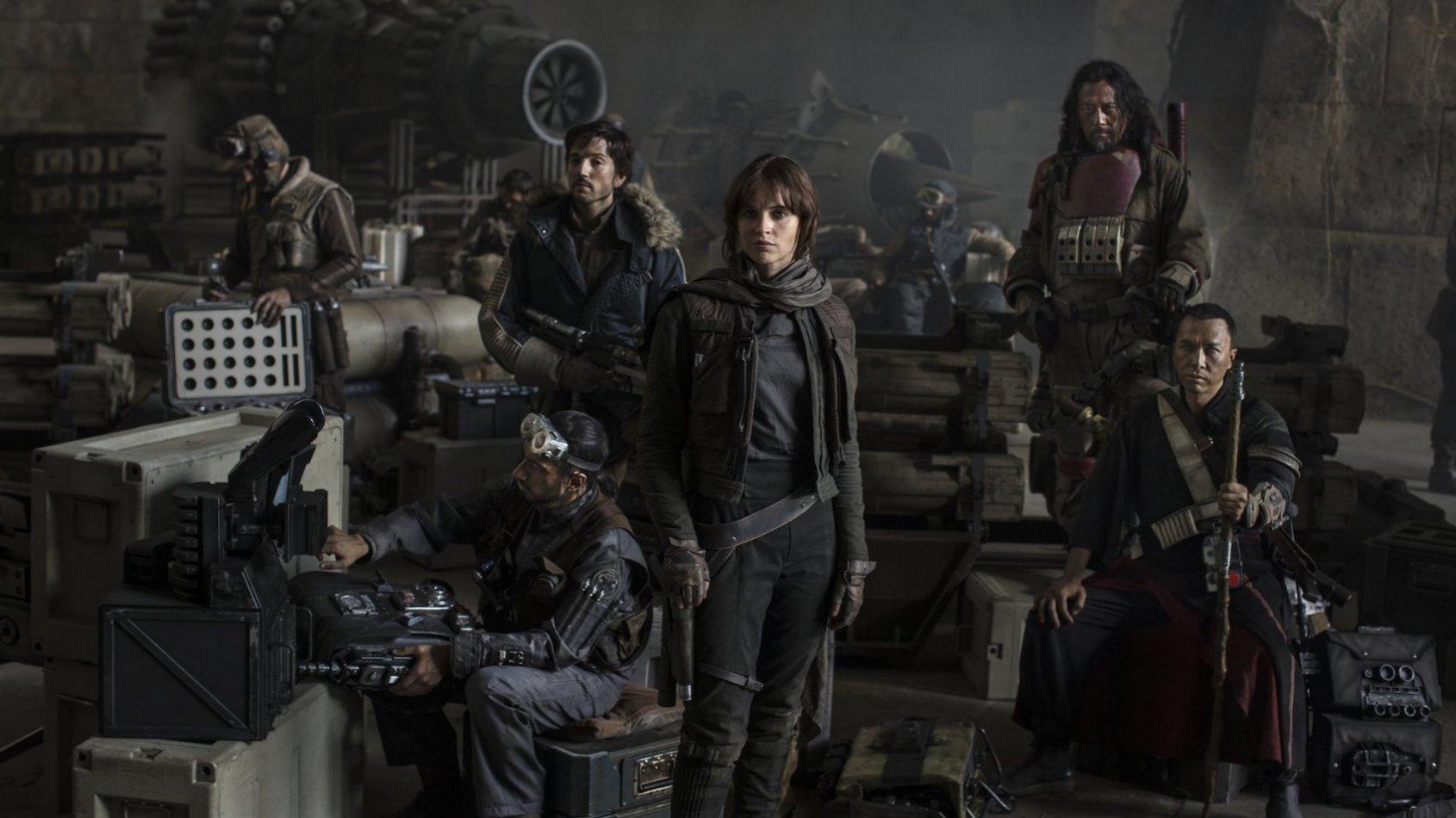 Des photos d'un vaisseau familier sur le tournage de Rogue One