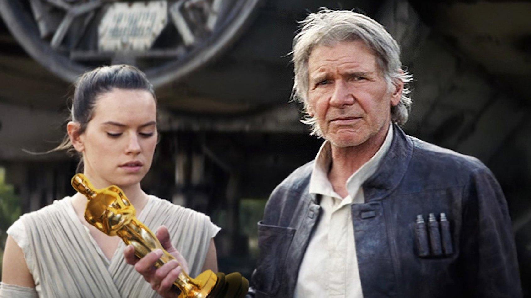 Le Réveil de la Force nommé 5 fois aux Oscars !