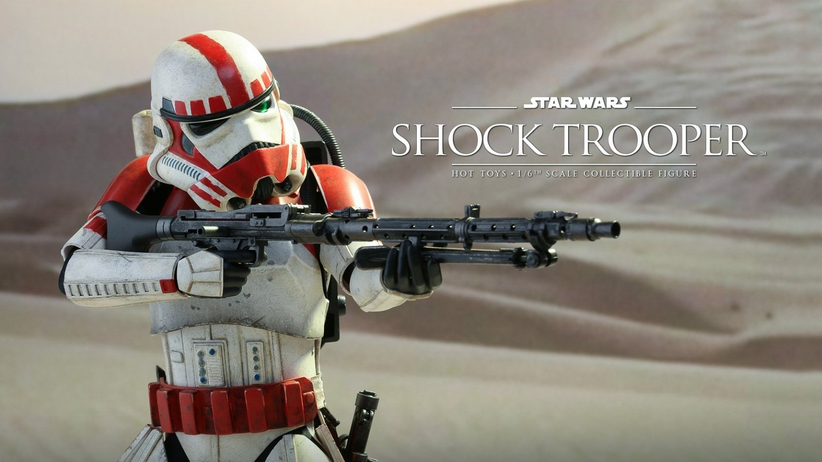 Le Shock Trooper  en poupée Hot Toys
