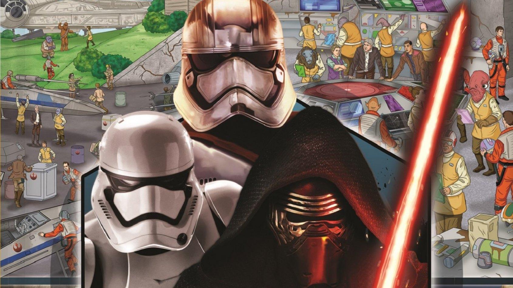 Review : Cherche et Trouve Star Wars Le Réveil de la Force