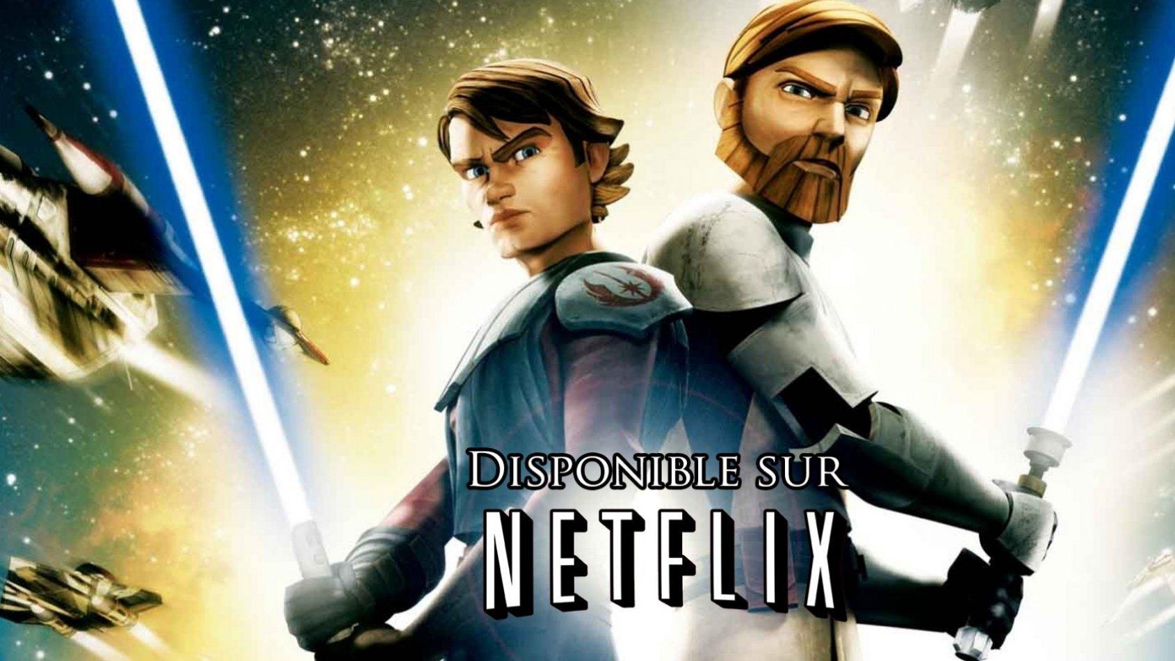 The Clone Wars est désormais disponible sur Netflix